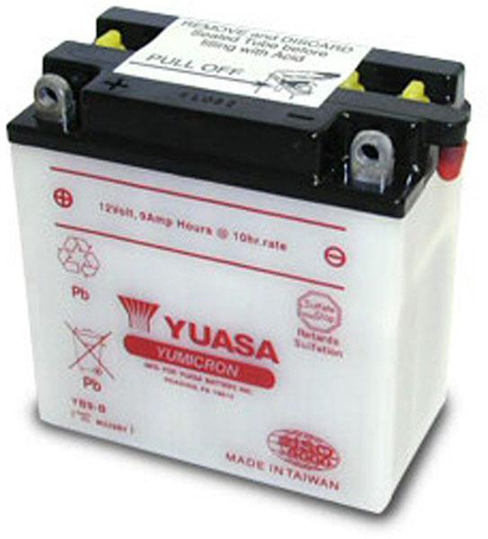 Batterie moto Yuasa YB9-B 12V / 9Ah