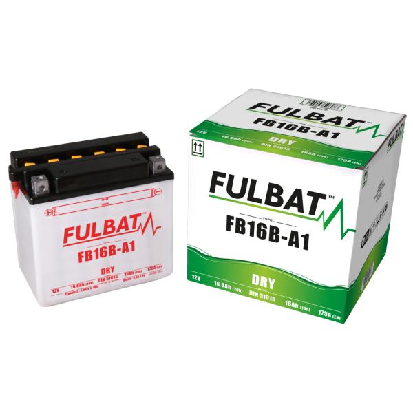 Batterie moto YB16-B 12V / 19Ah