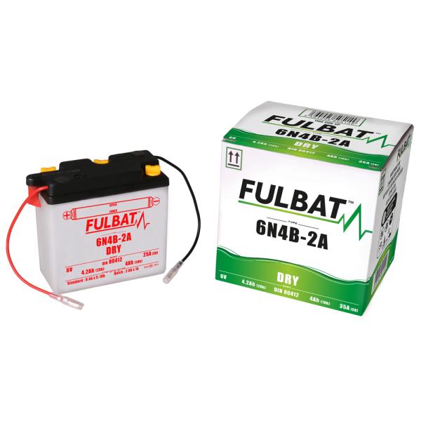 Batterie moto 6N4B-2A 6V / 4Ah