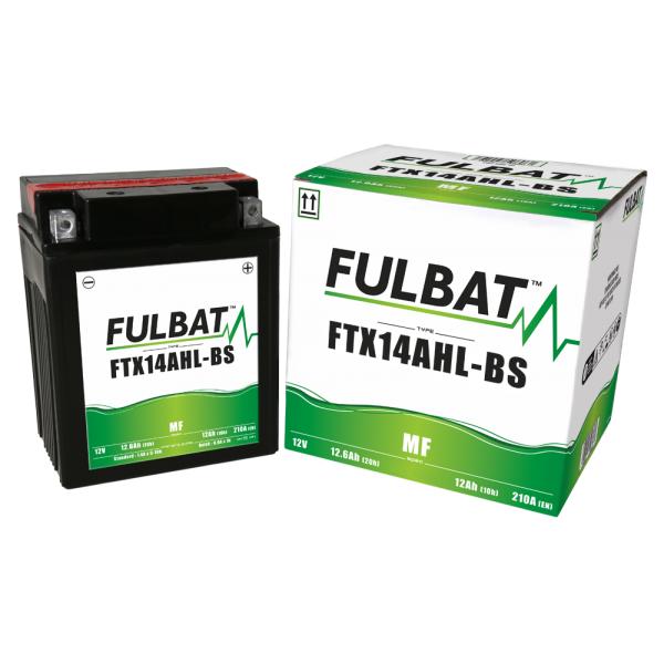 Batterie moto YTX14AHL-BS étanche 12V / 12Ah