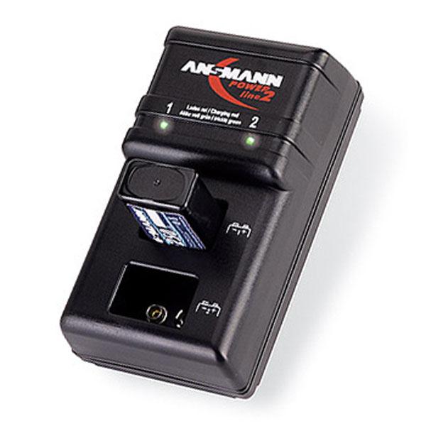 Chargeur de piles rechargeables 9v ansmann powerline 2 - Chargeur de piles intelligent ...