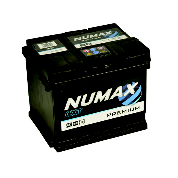 Batterie de démarrage Numax Premium LB1 063 12V 45Ah / 400A