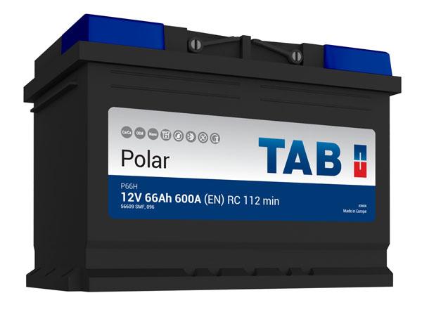 Batterie de démarrage TAB Polar S L3B S70 12V 70Ah 640A