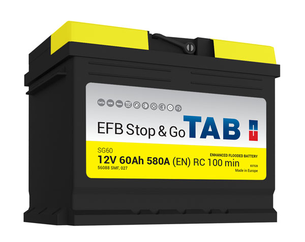 : EXIDE Batterie de voiture Start Stop EFB L2